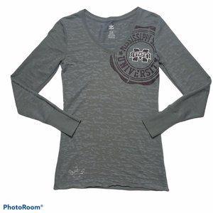 Adidas Women's Mississippi State Bulldogs T-Shirt